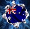 Australian Flag Hydrographics Water Transfer Printing film