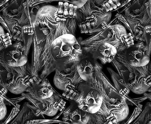 Death Skulls Hydrographics Film Special Edition AUS